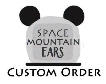 Custom Order Floral Wire Mickey Ears