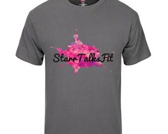 Classic 'StarrTalksFit' Logo Shirt
