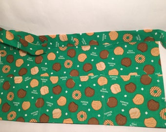 Girl Scout Cookie Half Apron