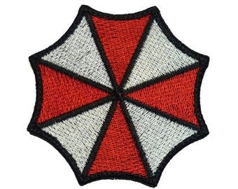 "Embroidered  PATCH ""Resident Evil Umbrella Corporation Logo"""