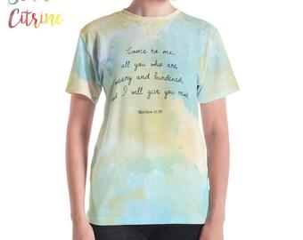 Christian T-shirts, Christian T-shirt Women, Scripture T-shirt Women Inspiring Christian T-shirt T-shirts Christians Christian Woman T-shirt