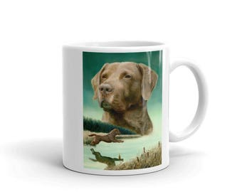 Entry Chesapeake Bay Retriever 11oz Coffee Mug
