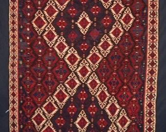 Old Turkish Van Kilim, great Design and Condition, Circa 1930/40
