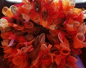 Fall or Thanksgiving wreath