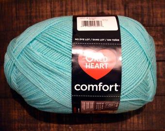 "Red Heart Comfort Yarn - ""Mint"""