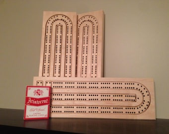 Blank Cribbage board