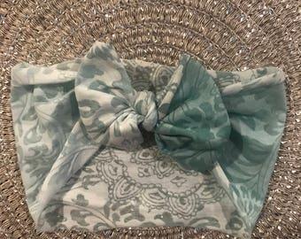 Blue Ombré headwrap