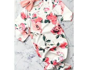 Floral Baby Nightgown