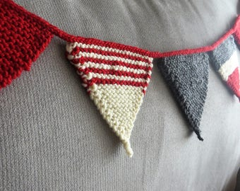 Hand Knitted Bunting