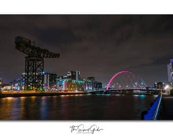 Clydeport - Limited Edition A4 Photographic Print
