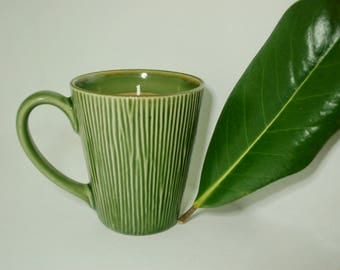 Clean Cotton + Bamboo Forest Soy Candle