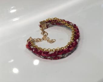 Bracelet liberty gold chain