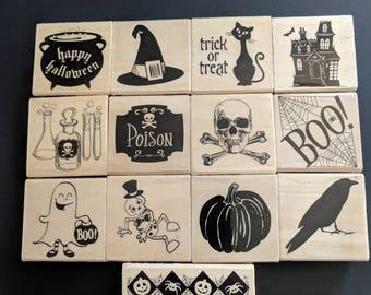 Halloween Stamp Set 13pc.
