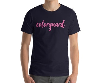 Colorguard Short-Sleeve Unisex T-Shirt - Color Guard / WinterGuard / Winter Guard / WGI