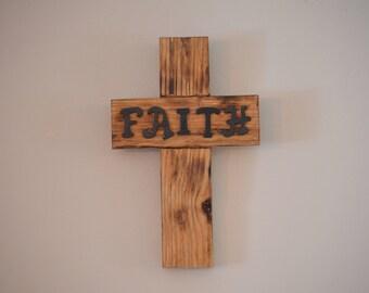 Handmade Barn Wood Cross