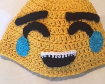 Laughing Emoji Hat