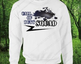 Call of Duty-Squad-Sweatshirt-Call Of Duty ww2- Call Of Duty Shirt-Tshirt-Shirt-Hoodie-Birthday-Birthday Gift-Gift-Call Of Duty Zombies