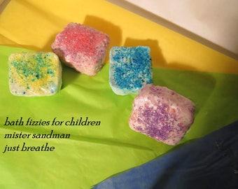 Bath fizzie for children