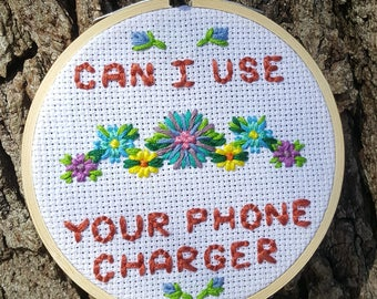 Can I Use Your Phone Charger?