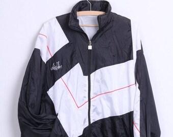 Uhlsport Mens M Track Top Jacket Black Sport Vintage