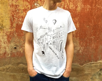 "T-shirt ""Vilnius full of space"""