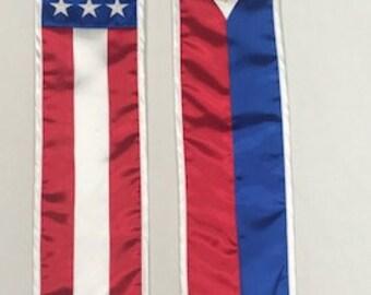 Filipino American Flag Stole