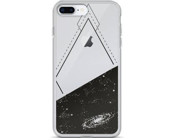 Geometric iPhone 7 case cosmos iPhone 8 case galaxy iPhone X case constellations phone case protective phone case