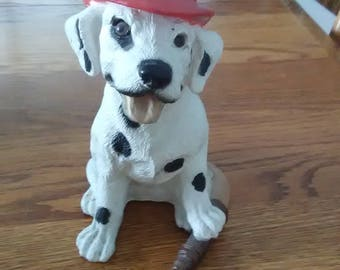 Dalmation Fire Dog Figurine