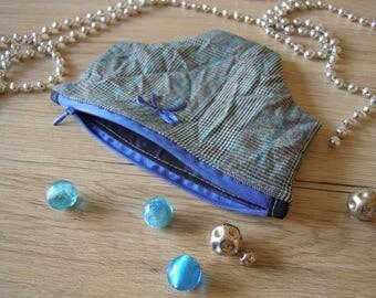 Sassy dark blue pouch