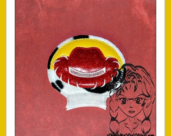 COWGIRL HAT TS Ear (Add On ~ 1 Pc) Mr Miss Mouse Ears Headband ~ In the Hoop ~ Downloadable DiGiTaL Machine Embroidery Design by Carrie
