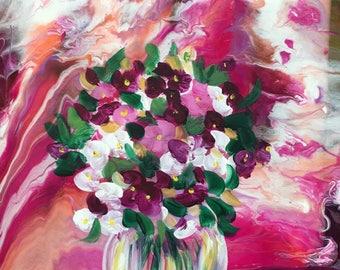 Sunny Bouquet Original Painting