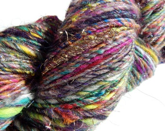 Big Bedlam-Multifiber Handspun Yarn