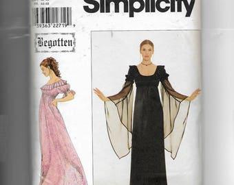 Simplicity Misses'  Dress Pattern 8619