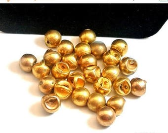 Eclipse Sale Brass Ball Vintage Buttons Lot of 26 Brass Buttons 10mm Ball Buttons Vintage Ball Buttons Vintage Brass Buttons Sewing Supply