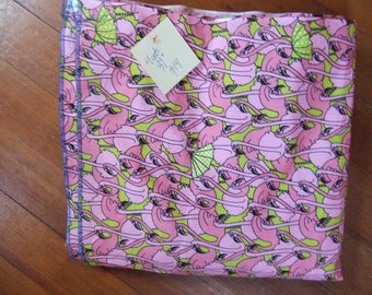 Flamingo Cotton Fabric - Destash