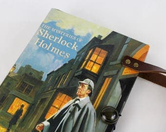 Book Purse - Sherlock Holmes- made from recycled vintage book by Rebound Designs