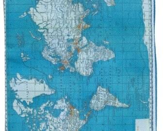 Medium Pouch Worldmap