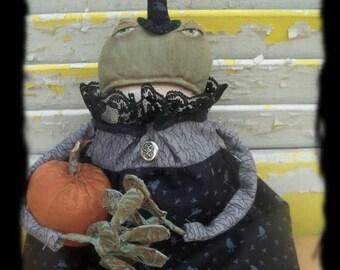CustomerAppreciationSale Primitive Wilhemina Flytrap Frog Witch