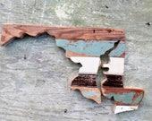 Maryland Wall Art.  Architectural Salvage Baltimore Decor, Wood Maryland Decor Chesapeake Bay Art, Wood Wall Art, Wooden Maryland Art