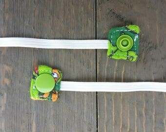 Replacement Snap-On Elastic for Nebulizer Head Straps (ninja turtles)