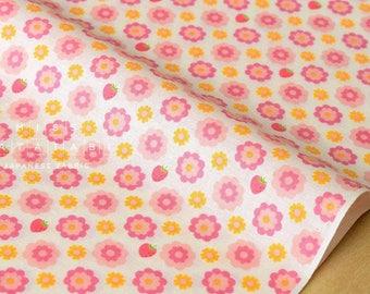 Japanese Fabric Atsuko Matsuyama Vintage Lady - pink, cream - fat quarter
