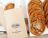 Wedding Favor Bag - Candy Favor Bags - Cookie Bag - Take me Home Tonight - Personalized Wedding Favor Bag - Flat Kraft Bags - 20 Paper Bags
