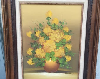 Oil Painting Signed Pasanault