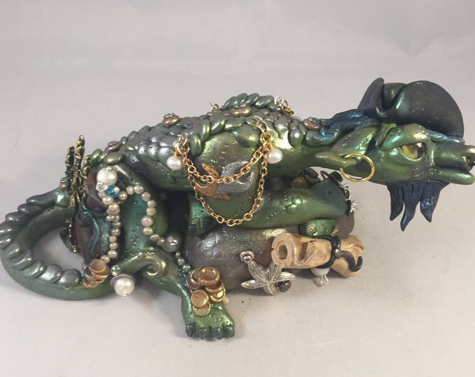 The Pirate Dragon Sculpture