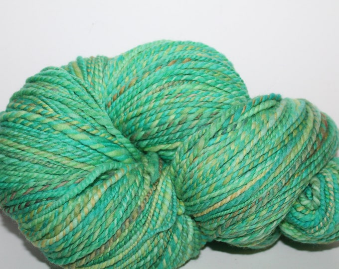Handspun Merino Wool Yarn.  2ply DK Weight. Kettle Dyed. Super Fine Merino. 1/2lb 428yards