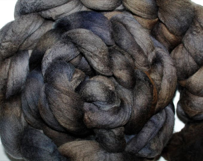 Kettle Dyed Merino Wool Top. Super fine. 19 micron  Soft and easy to spin. Huge 1lb Braid. Spin. Felt. Roving. M303
