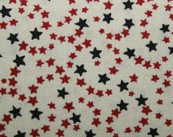 Fabric with Stars, Quilting Fabric, Sewing Fabric, Cotton Fabric, By The Yard, Star Quilt Fabric, Cotton fabric with stars, Patriotic Fabric