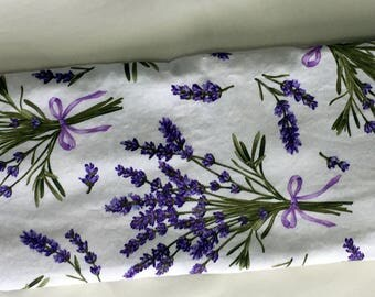 Herbal Headache Wrap, Organic French Lavender Headache Hot Cold Pack, Organic French Lavender and Flax Seed Headache Pillow, Handmade