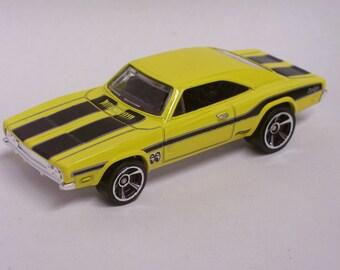 Hot Rod Magnet - 1969 Dodge Charger 500 : Hot Rod, Man Cave, Refrigerator, Tool Box, Stocking Stuffer, Magnet