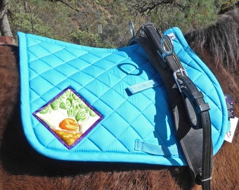 Be Spunky! Pony Saddlepad from The Carrot Collection CP-78